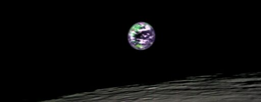 Earth and the Moon from Chandrayaan-1