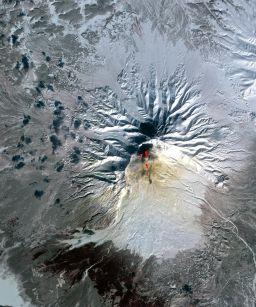 Sheveluch Volcano, Kamchatka, Russia