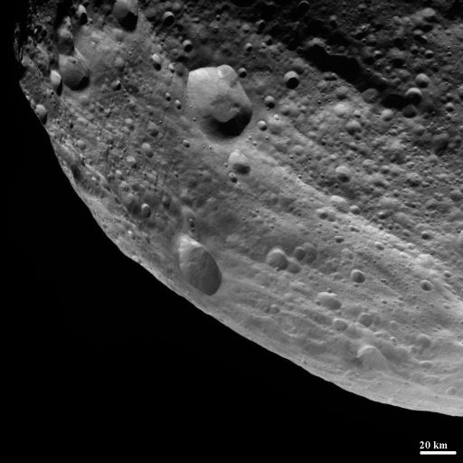 Vesta's limb