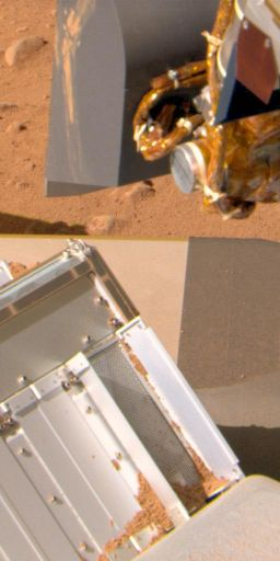 Sample dumped on TEGA on sol 64