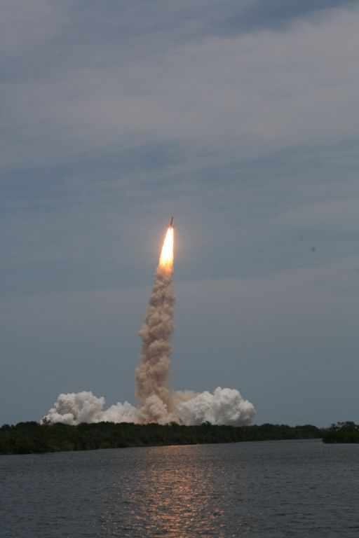 Atlantis Blasts Off