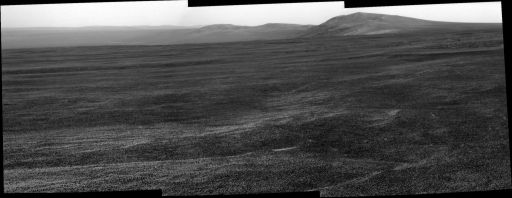 Endeavour's eastern rim, Opportunity sol 2671