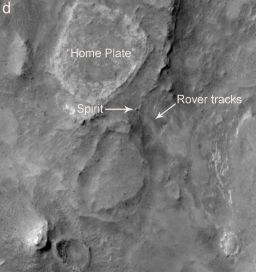 A HiRISE view of Spirit