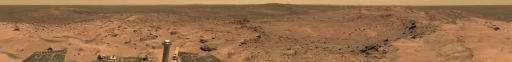 Spirit panorama: 'Everest,' sols 620-622