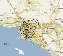 A Tunguska impact on LA
