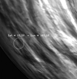 Venus Express views MESSENGER's closest approach point