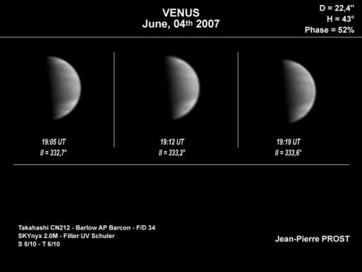 Venus Amateur Observing Project