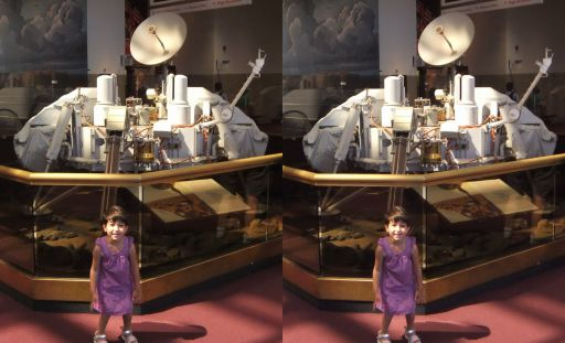 Anahita and Viking in the National Air and Space Museum