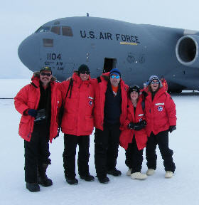 In Antarctica!