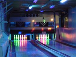 Tenpin bowling requires disco outfits here