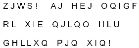 ANSMET cryptogram of the day.
