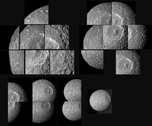 Cassini's February 13 flyby of Mimas