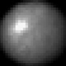 Ceres at a scale of 10 km/pixel