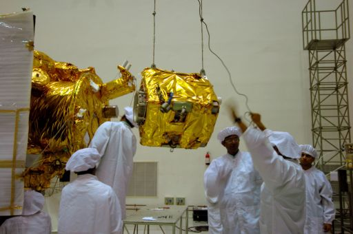 Integration of the Impact Probe onto Chandrayaan-1