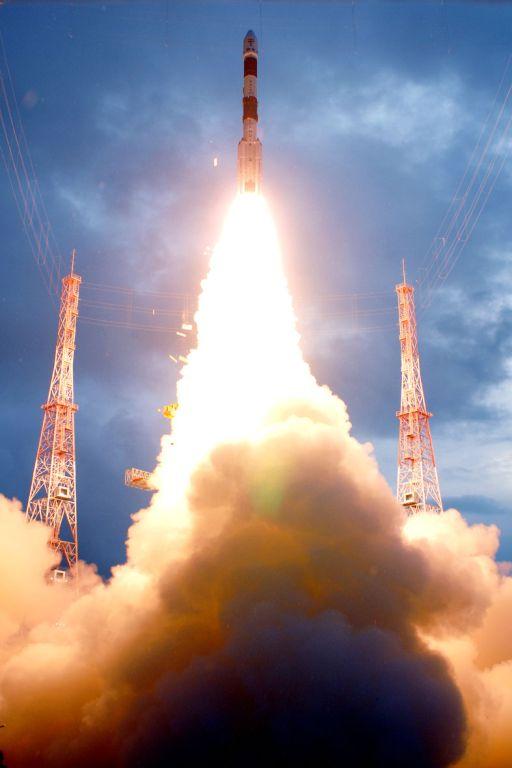 Chandrayaan-1 lifts off