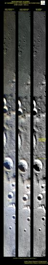 Image from Chandrayaan-1's HySI camera