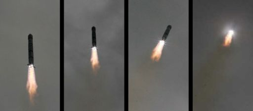 Chang'e 1 disappears into the clouds