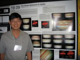 Amateur Jupiter observer Christopher Go