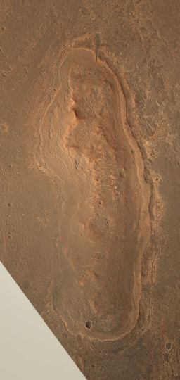 Cape York in natural Martian color
