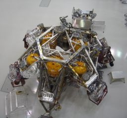 MSL descent stage under construction