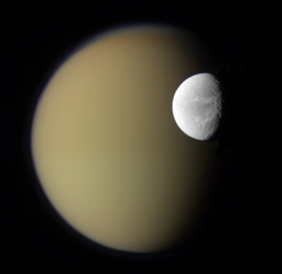 Dione and Titan