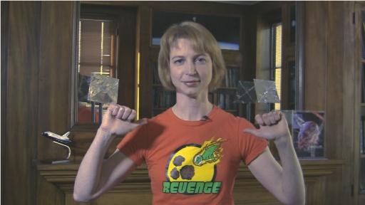 Emily Wearing Revenge t-shirt