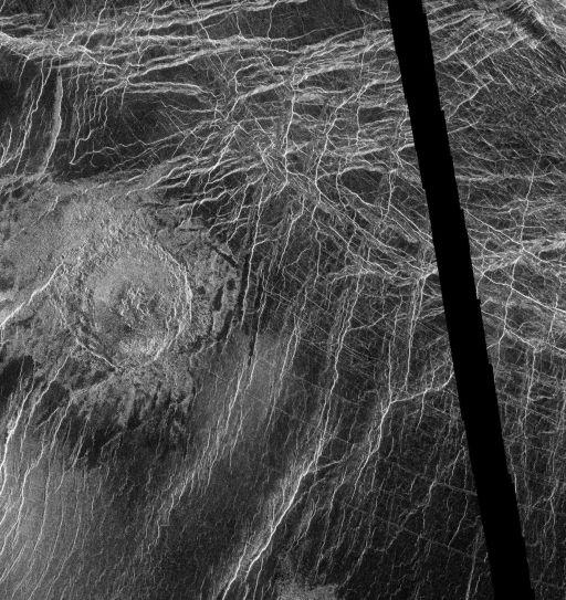 Austen crater, Venus