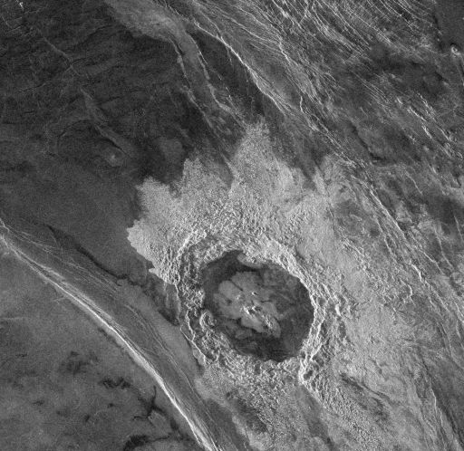 Dickinson crater, Venus