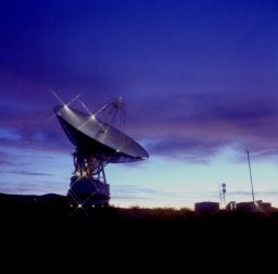 The DSN's Goldstone antenna
