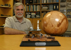 MER science team member Dr. Ron Greeley