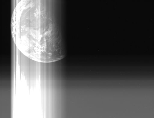 Hayabusa's last view