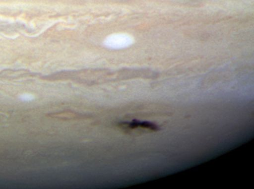 Jupiter from Hubble, July 23, 2009