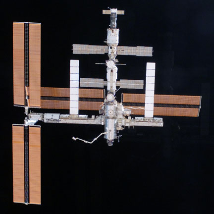 Space Station at a scale of 20 centimeters per pixel