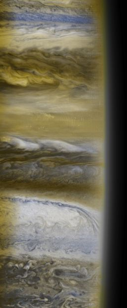 Jupiter's cloud tops from New Horizons MVIC