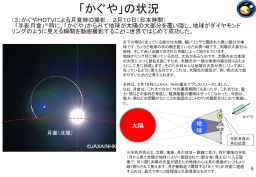 Geometry of the Kaguya 'Diamond Ring' photo