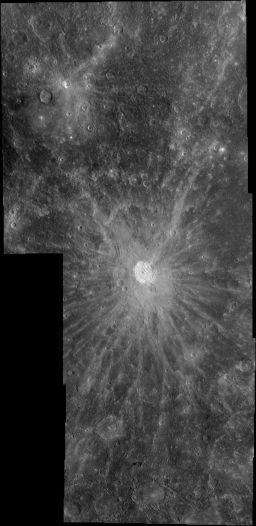 Kuiper crater, Mercury