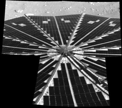 Solar panel mosaic