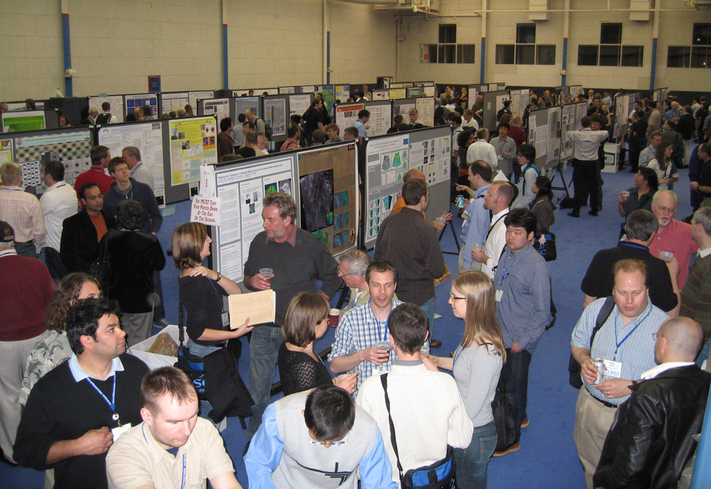 Poster Session at the Lunar and Planetary Science Conference