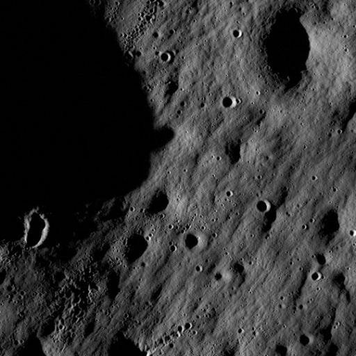LRO's first images