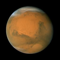 Mars during the 2007 opposition: longitude 320°