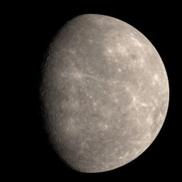 MESSENGER departs Mercury