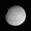 Mimas in natural color