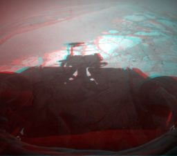 Opportunity self portrait in 3-D
