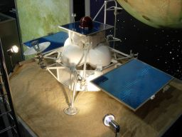 Model of the Phobos-Grunt spacecraft