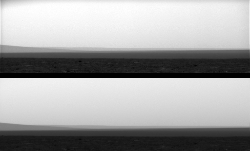Comparison between uncalibrated JPEG (top) and calibrated (bottom) Phoenix images