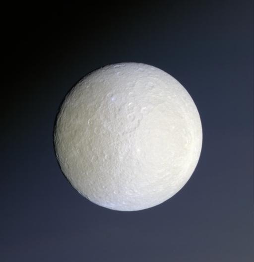 Rhea and Saturn