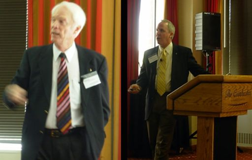 Schweickart and Jones at Conference on NEO Law and Policy