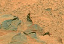 Teeny little bigfoot on Mars
