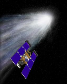 Stardust chases comet Wild 2