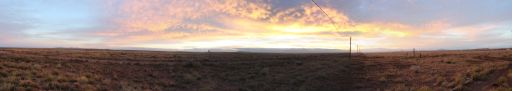 Sunset from Meteor Crater RV Park
